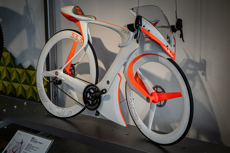 2015 prototype FUCI racing bicycle with electric motor