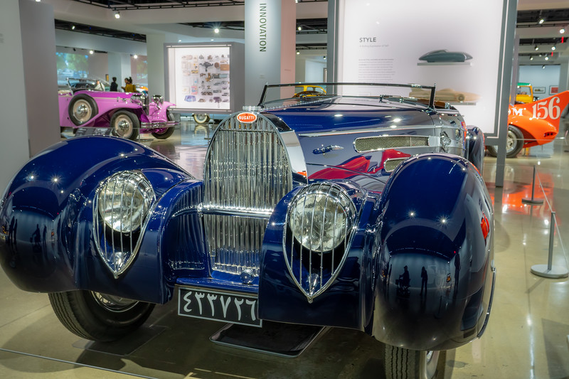 1939 Bugatti Type 57C by Vanvooren of Paris.