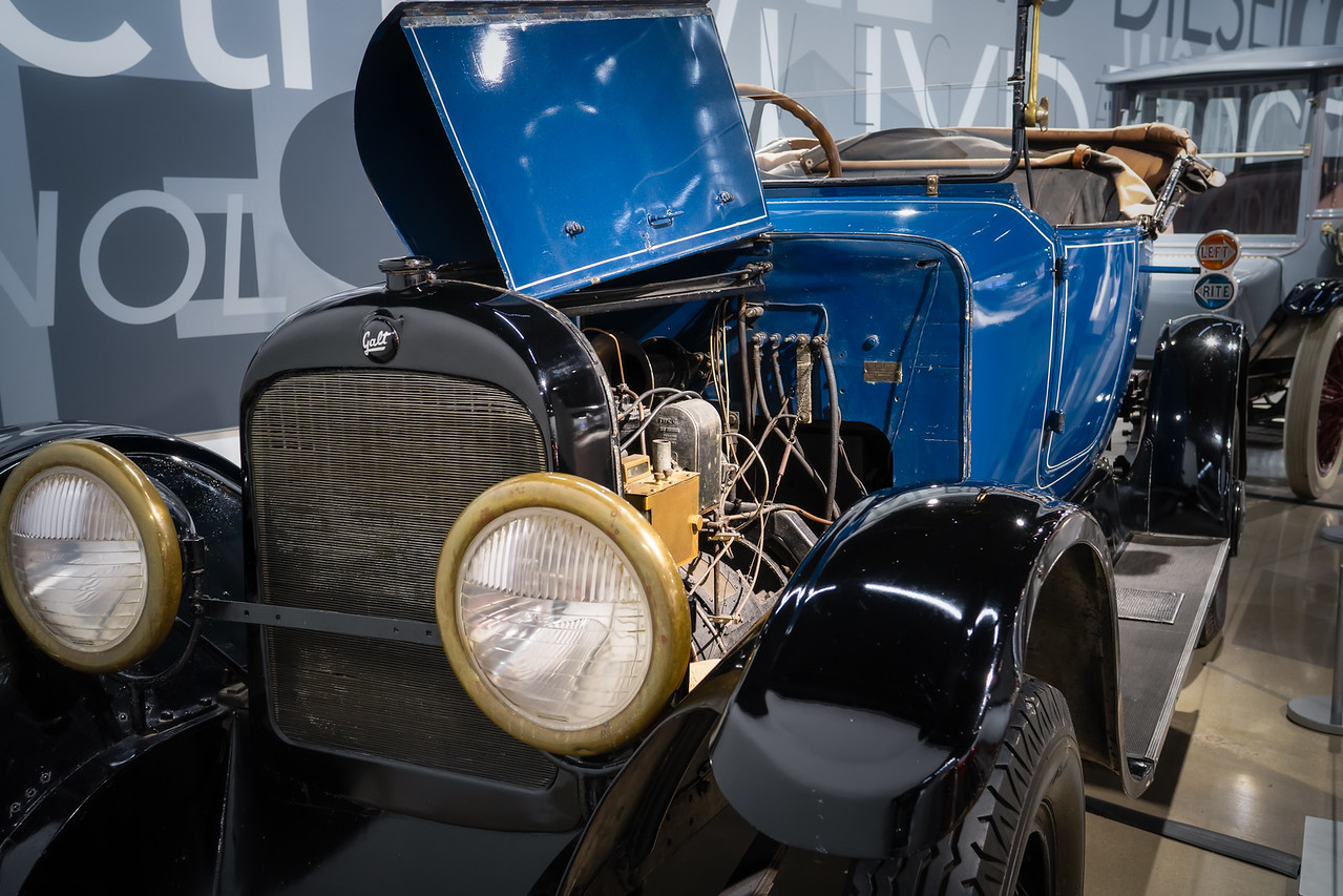 Gas-Electric Hybrid, the 1914 Galt