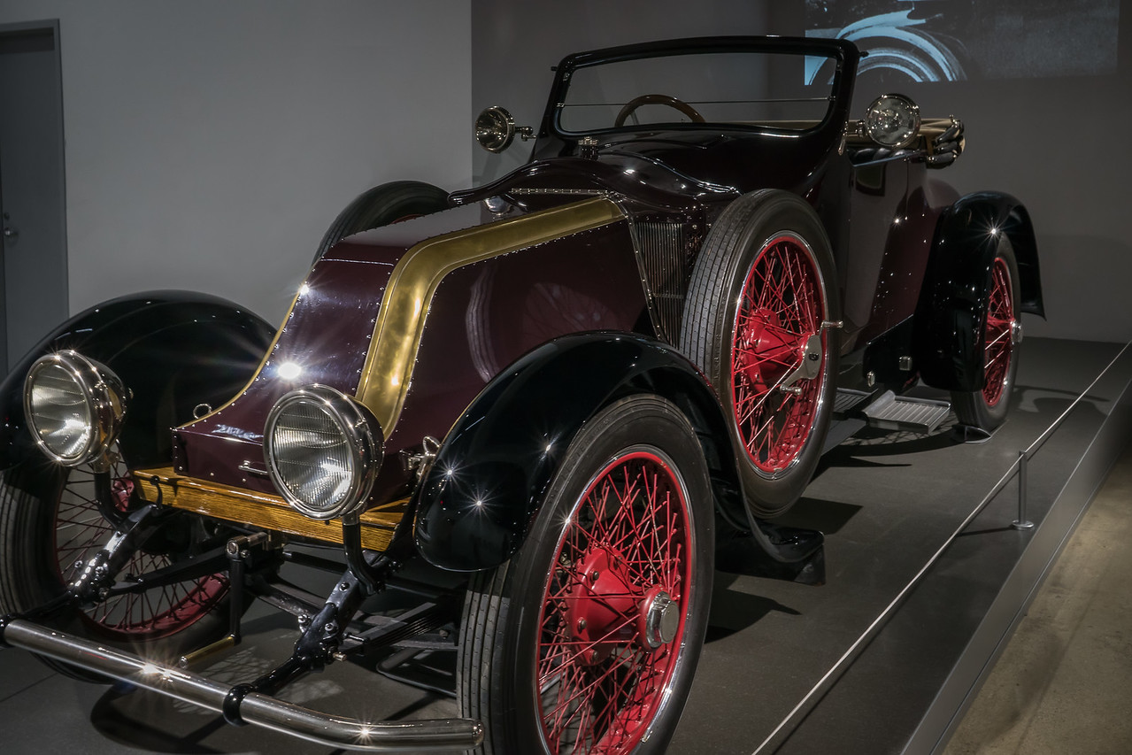 Fatty Arbuckle's 1914 Renault type EF
