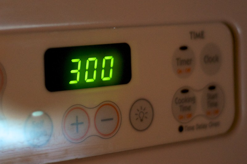 Day 300 -So I was busy and wanted to do something representative.  I waitied until 3:00 in retrospect I could have just set the temp.