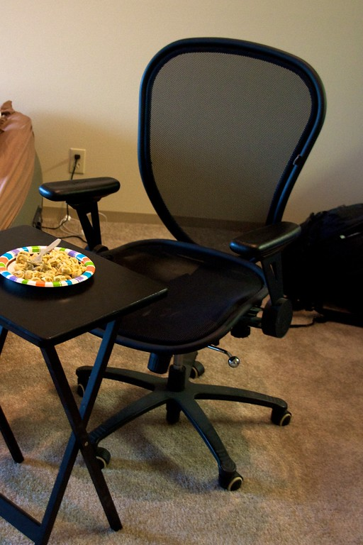 """Day 270 -Since the movers haven't come yet, I'm titeling this one """"dining room set."""