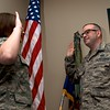 Day 311 -A rare photo of me taken with my handy remote as I get sworn in to the MN National Guard.  A proud day to be back in the same state that I started my military career.  I'll miss the 105th, but already feel at home with the 133rd.