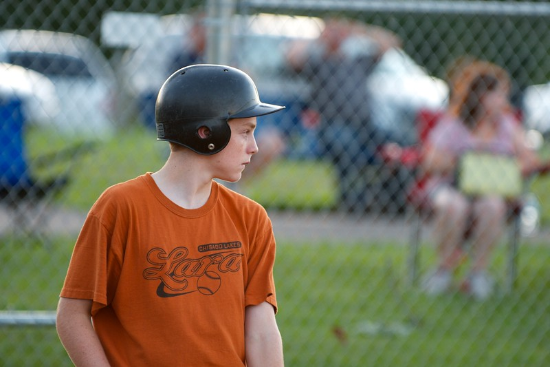 Day 331 -Made it to see my nephew in yet another wondergul evening of little league.  So this one's for you Noah.