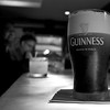 Day 190 -One of Christina's collegue's enjoyed a much deserved Guinness after finding out today that he along with Christina will be emplyed as resident physicians this summer.  Two more days and we all find out where.  A wonderful day.  Giving up color for Lent.