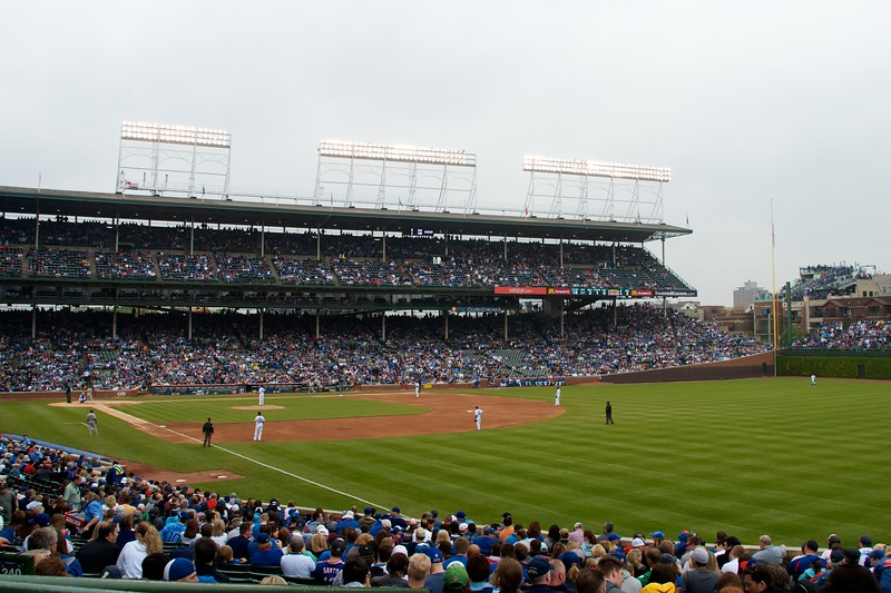 Day 265 -Trying to make it through a rough week and couldn't think of a better way than a day at Wrigley field watching my favorite team get blown crushed.