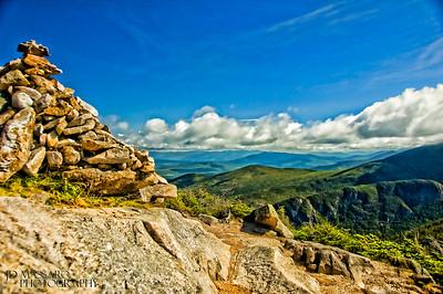 Mountain top trail