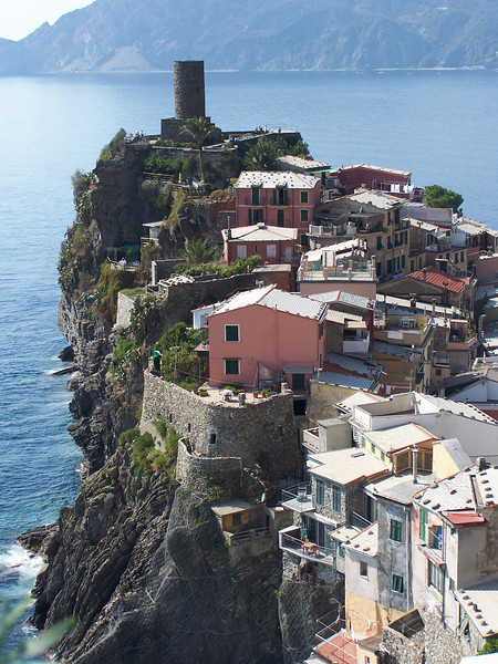 Jill - View from top of one of a hill in Vernazza, Italy