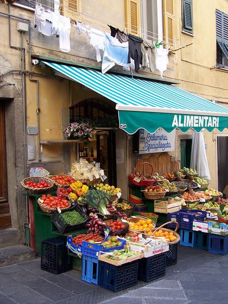 Jill - Fruit Market in Cinque Terra, Italy
