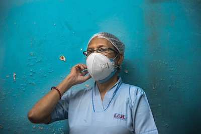 Covid-survivor Sister Sangeeta Pal says, 'I have defeated the virus and resumed duty after following proper quarantine protocol. My colleagues welcomed me back wholeheartedly'.