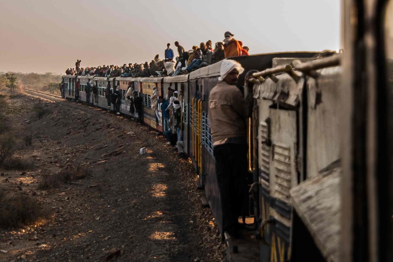 The full view of  No. 52171 Gwalior Sheopur Kalan Passenger train.
