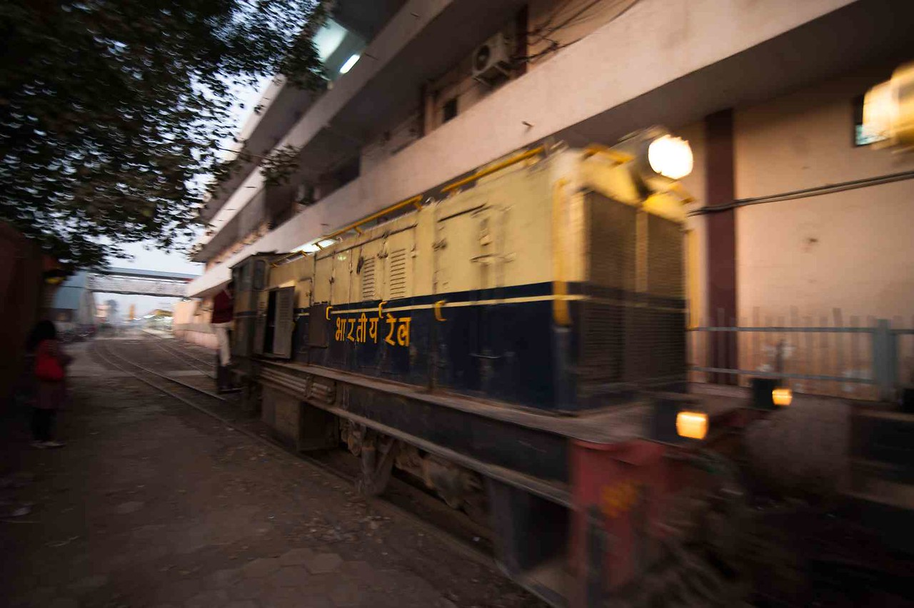 The Gwalior to Sheopur Kalan Passenger train runs on diesel engines.  After every return journey, the engine goes to Gwalior Rail yard for maintenance.