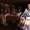 © Paul Conrad/Pablo Conrad Photography -<br /> Folklorico Mexicano dance team member Ashley Ventura watches others on her dance team perform at Basalt Middle School while waiting to perform during Cinco de Mayo celebrations in Basalt, Colo.