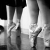 © Paul Conrad/ Pablo Conrad Photography<br /> Dancers on pointe during practice and rehearsal in Enid, Okla.