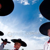 © Paul Conrad/Pablo Conrad Photography -<br /> Folklorico Mexicano dancers prepare for their performance during Basalt River Days in Basalt, Colo.