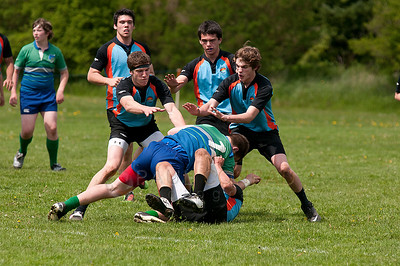 © Paul Conrad/Pablo Conrad Photography  Chuckanut Bay Youth Rugby U-16 and U-19 plays against the visiting  Liberty Rugby Club at the Chuckanut Bay Rugby & Polo Grounds in Ferndale, Wa., on Saturday May 5, 2012.