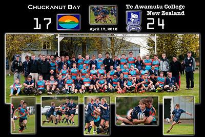 Te Awamutu College at Chuckanut Rugby