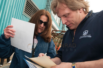 © Paul Conrad/Pablo Conrad Photography  Capt. Sig Hansen signs autographs at the Deadliest Catch Con at the Bell Harbor Conference Center on Saturday April 9, 2011, in Seattle, Wash.