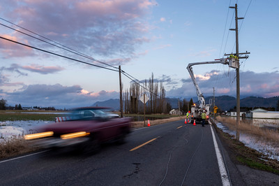 Sumas Powerline Repair -  0617