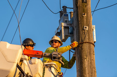 Sumas Powerline Repair -  0311