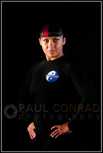 © Paul Conrad/Pablo Conrad Photography - Muay thai martial artist Brooke Peté with Total Confidence Martial Arts in Bellingham, Wash.