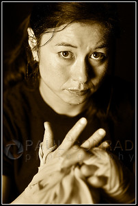 © Paul Conrad/Pablo Conrad Photography - Muay thai martial artist Katherine Holmes with Total Confidence Martial Arts in Bellingham, Wash.