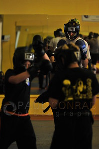 © Paul Conrad/Pablo Conrad Photography - Arjhan David Neal Brown teaches  during the fourth day of the PNW Muay Thai camps at Total Confidence Martial Arts in Bellingham, Wash., on Sunday morning  Aug. 25, 2013