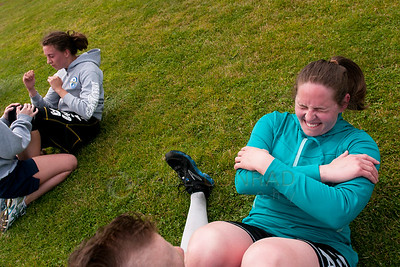 © Paul Conrad/Pablo Conrad Photography Sit-ups during the physical fitness challenge.