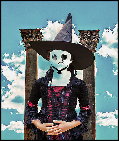 """Andrew Robertson, """"The Face Restored of young witch"""" (2013), Washington, D.C."""