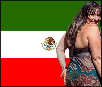 Coat of arm of Mexico woman