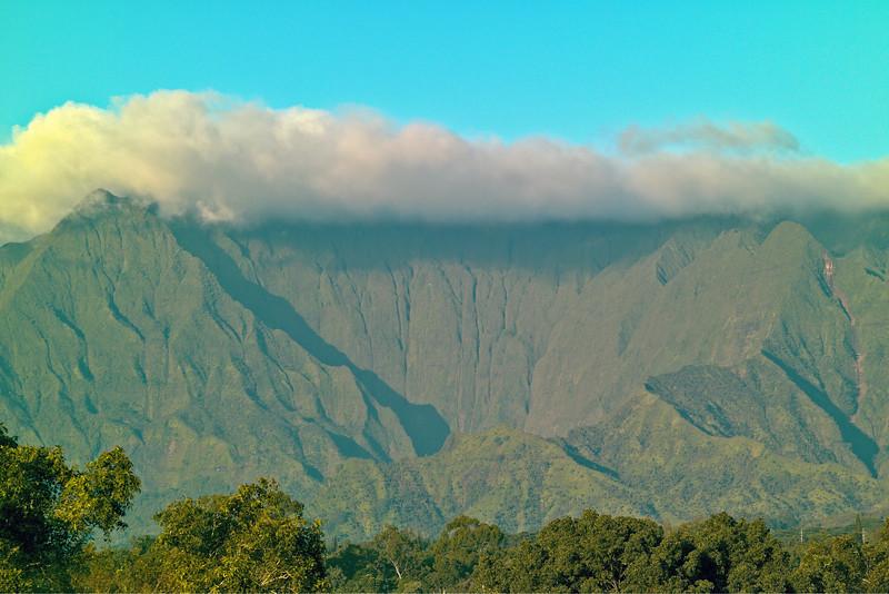 Waialeale in the Clouds