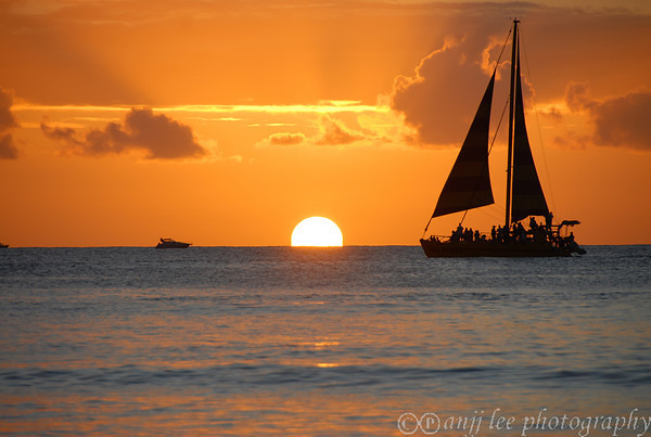 Sailboat&sunset