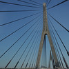 Suspension Bridge separating Portugal & Spain in Algarve