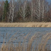 wintry river in Ukraine