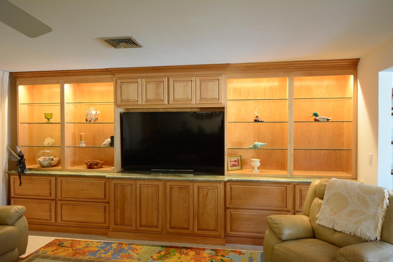 All Wood Cabinetry & Granite countertop