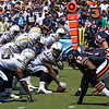 Nick Hardwick - #61 Center for the SD Chargers 2007 - Against the BEARS at Qualcomm..