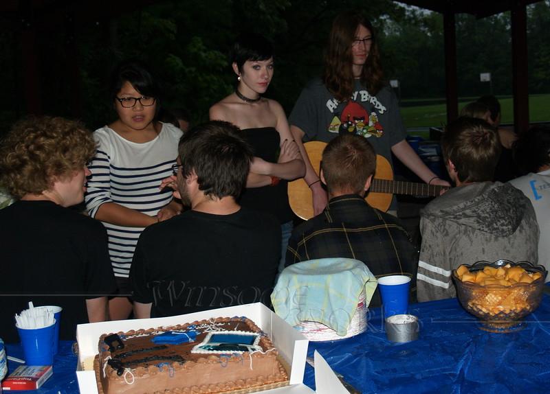 Seth's H.S. grad party  -  08/13/2011