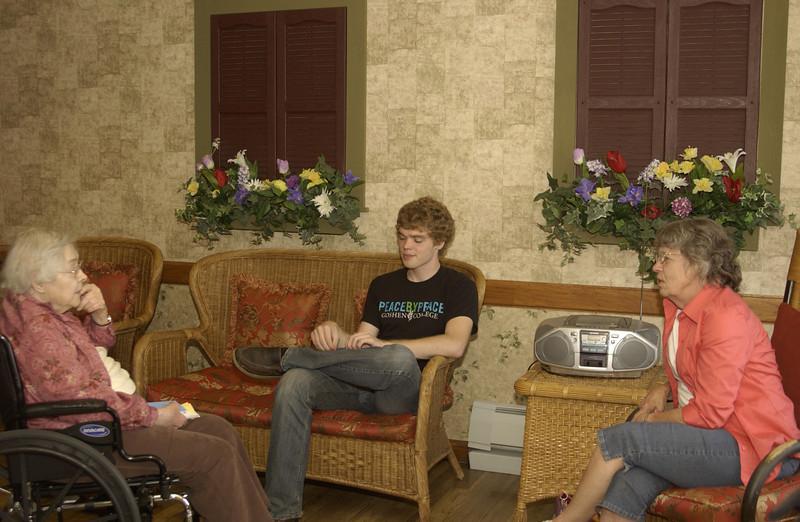 Visiting Grandma, Davidsville PA   -  5/18/2012