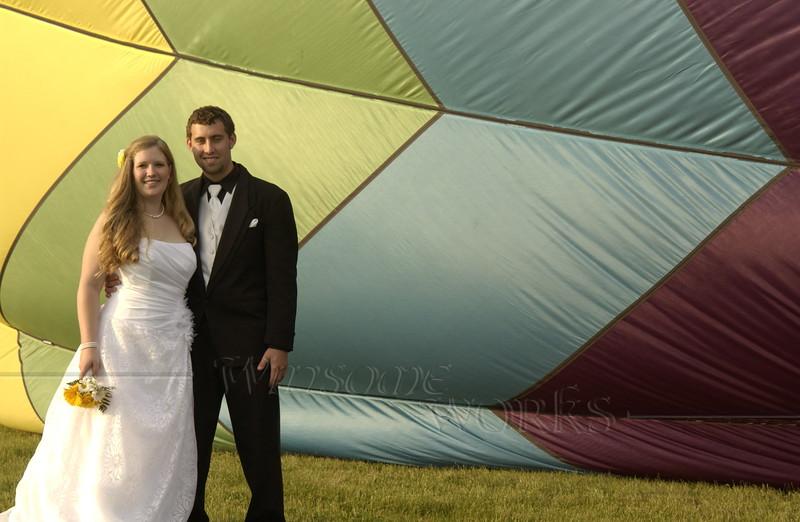Hot Air Balloon Wedding  - 06/05/2011