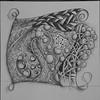 Zentangle Abstract  © Anna Lisa Yoder 2014  - 3/27/2015