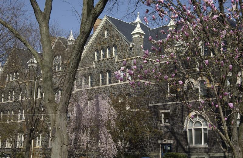 Moravian College in Spring, Bethlehem PA  - 3/28/2012