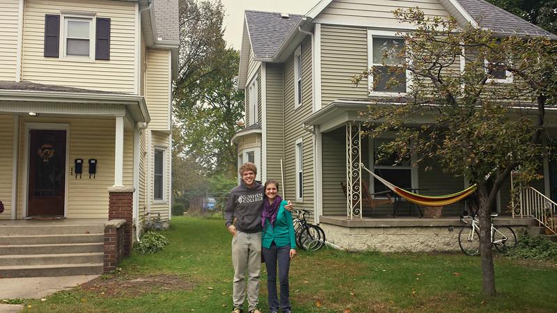 Seth & Hillary in Goshen  - 10/04/2014