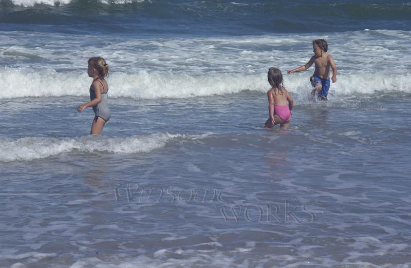 Nieces & nephew in Atlantic, Sea Isle City NJ  -  07/14/2011