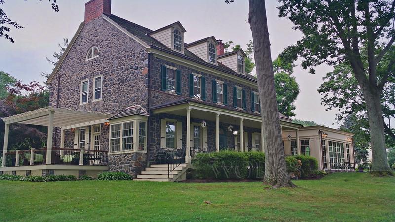 Old fieldstone farmhouse B&B on our 30th anniversary fling  - 8/03/2014