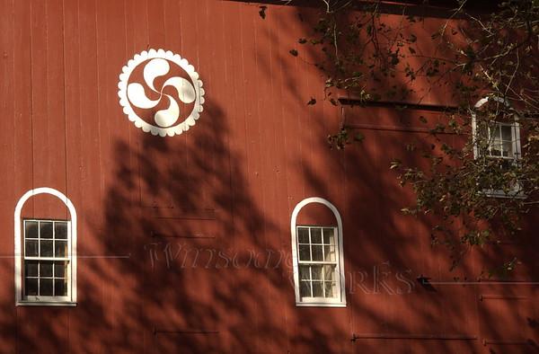 Barn at Pool Wildlife Sanctuary  -  Lehigh County, PA  -  10/17/2012