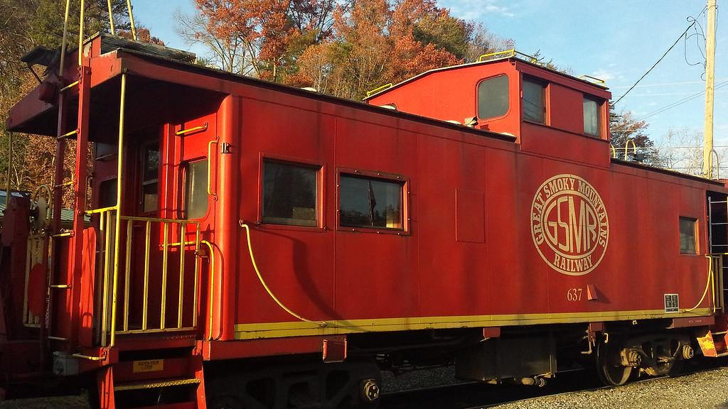 Great Smoky Mountains Railway, Bryson City, NC  - 11/25/2014