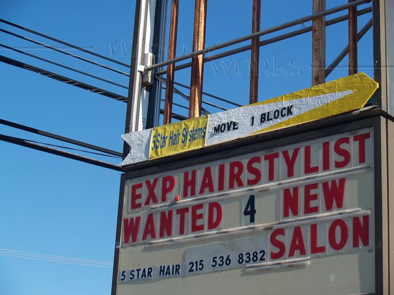 """""""Picturesque"""" Quakertown sign  - 9/05/2010"""