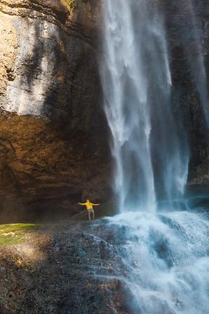 Cascata di Tret, Val di Non, Trentino
