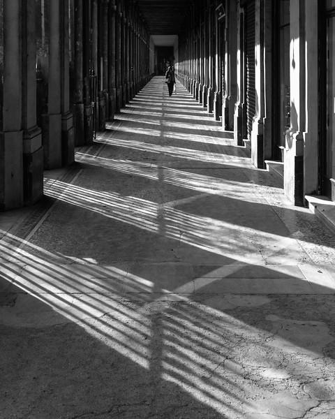 Portico of Royal Palace, Paris, France