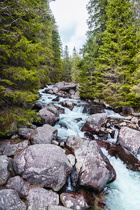 Poprad river, High Tatras